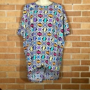 Lularoe Minnie Mouse Disney Irma Top size Small